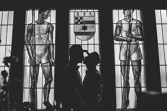 Freie Trauung im Berliner Ruder Club in Berlin Wannsee Hochzeitsfotograf © www.henninghattendorf.de