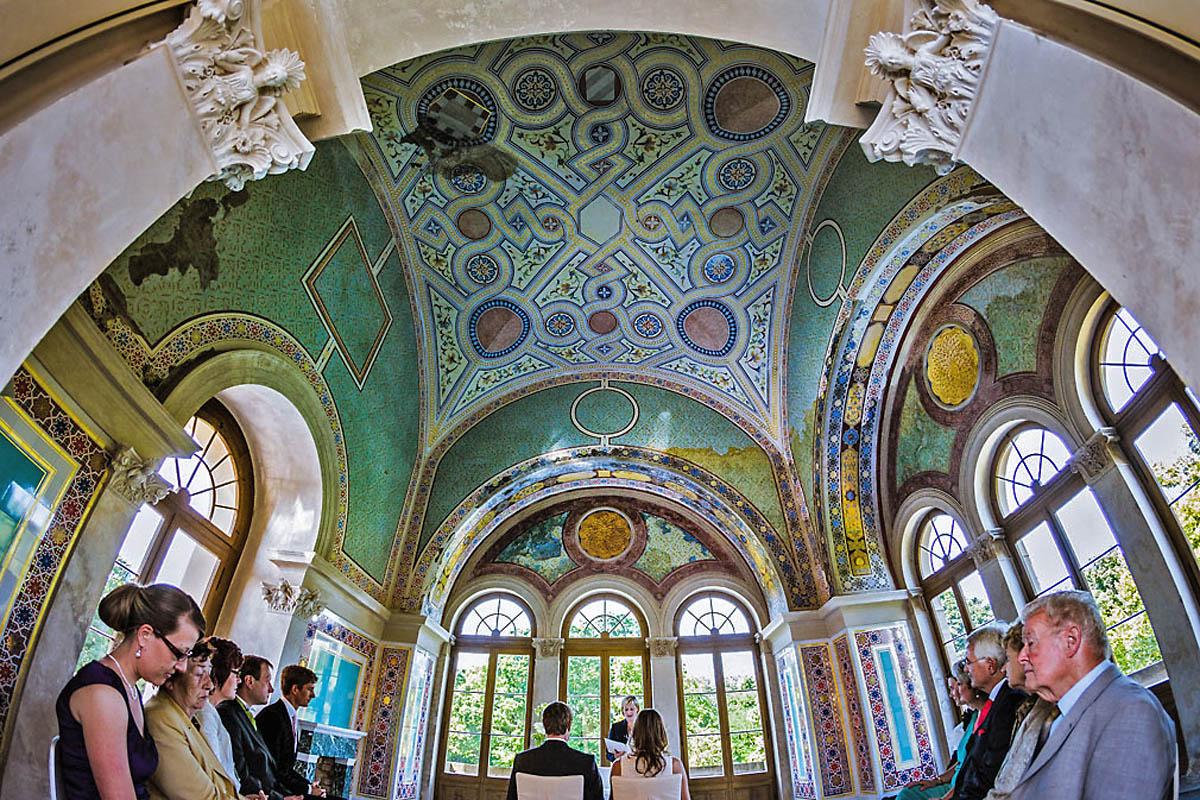 Standesamt Belvedere auf dem Pfingstberg in Potsdam Hochzeitsfotograf © www.henninghattendorf.de