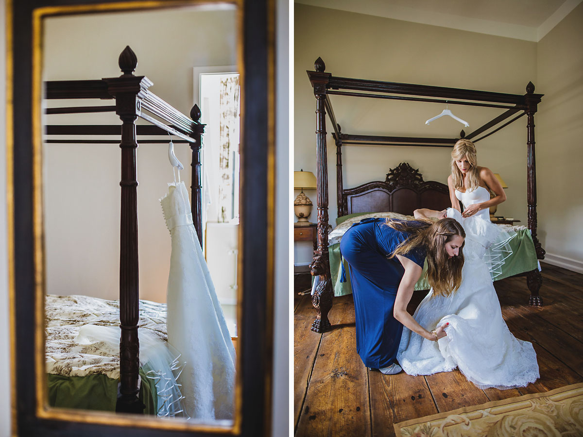 Fotograf einer Hochzeit in Uckermark im Jagdschloss Kotelow