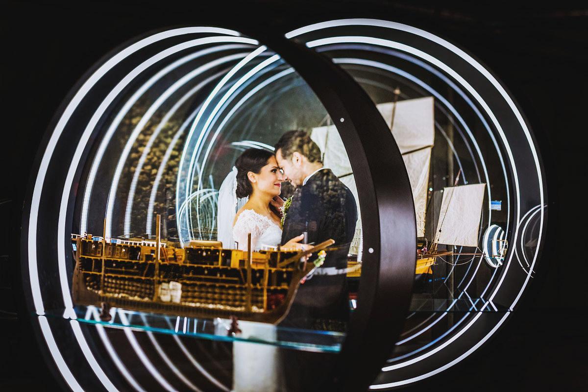Hochzeitsfotograf Berlin im Technikmuseum