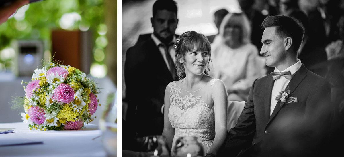 Brautstrauß Blumenstrauß Hochzeit Schloss Kroechlendorff