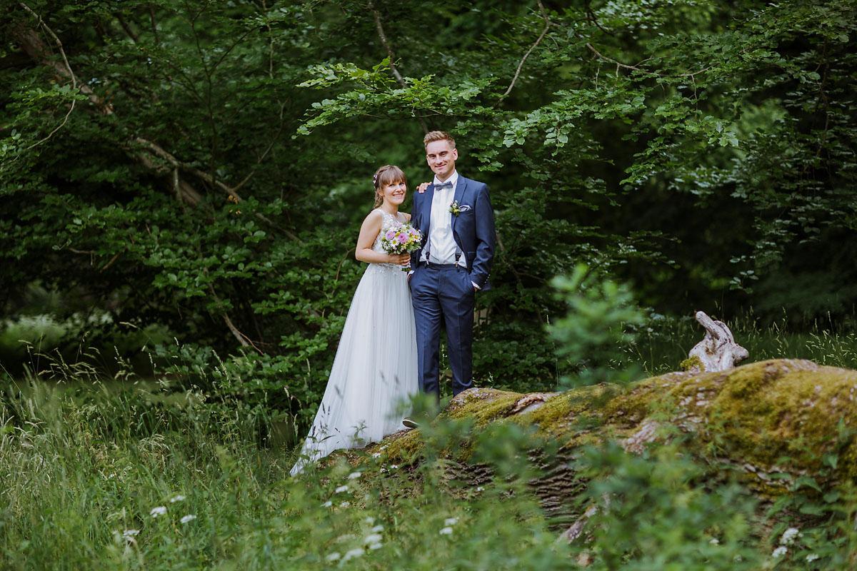 Hochzeitsfotograf Brandenburg Hochzeitsportrait Schloss Kroechlendorff