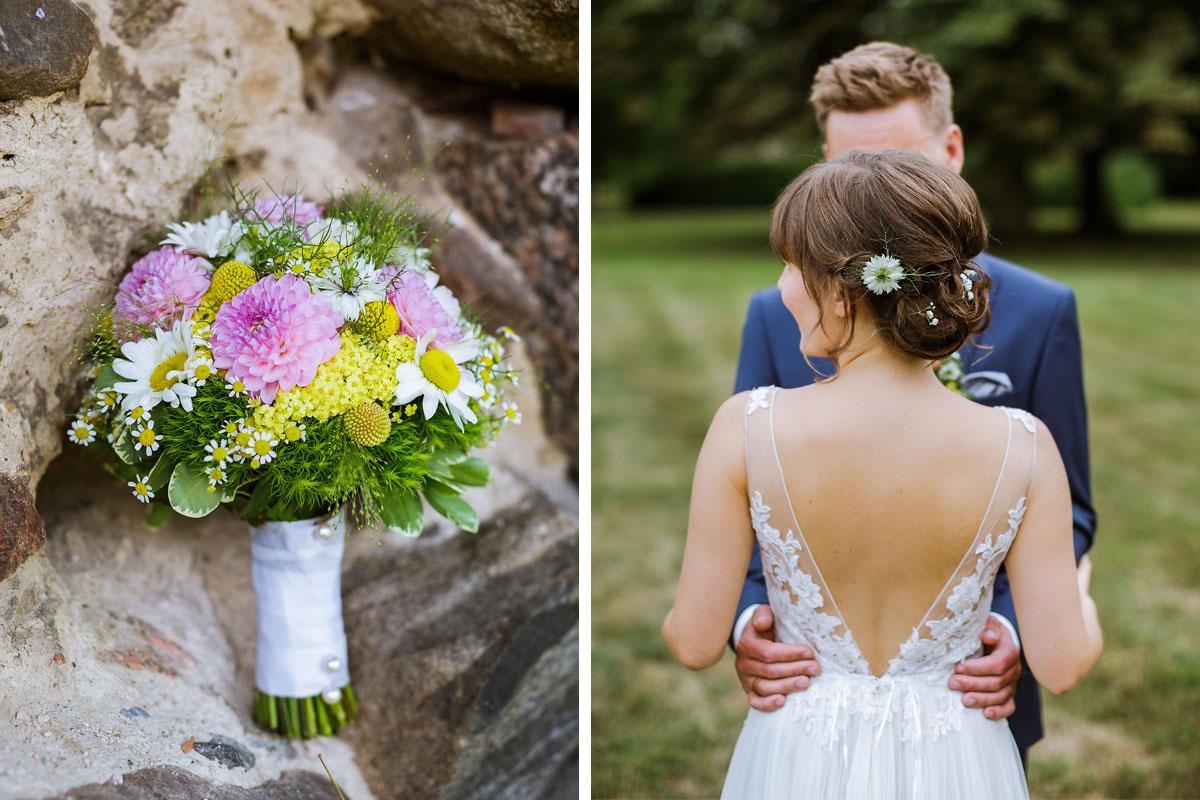 Brautstrauß Blumenstrauß Hochzeit Brandenburg