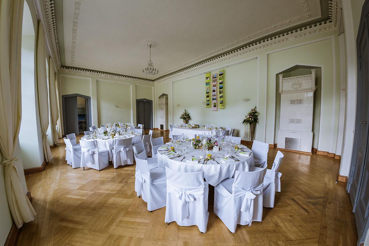 Dekoration Hochzeit Schloss Kroechlendorff
