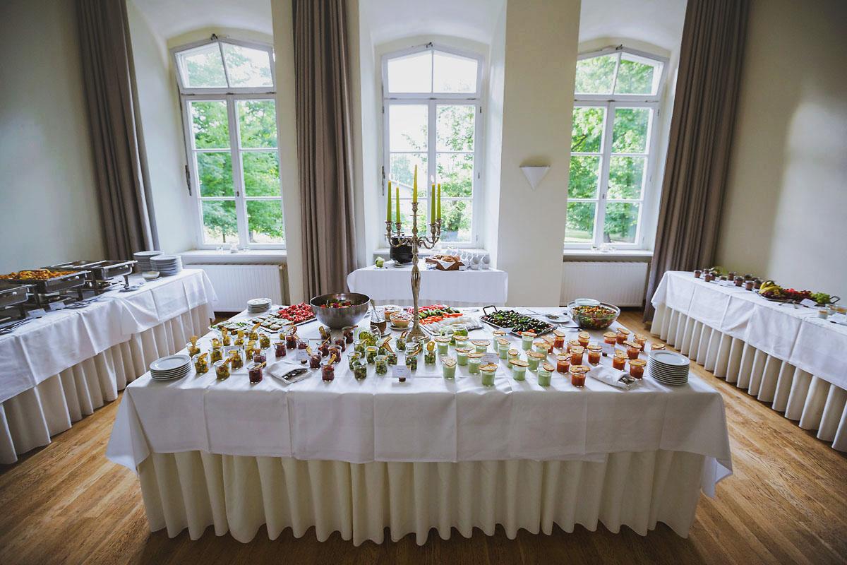 Heidrichs Catering Hochzeit Schloss Kroechlendorff