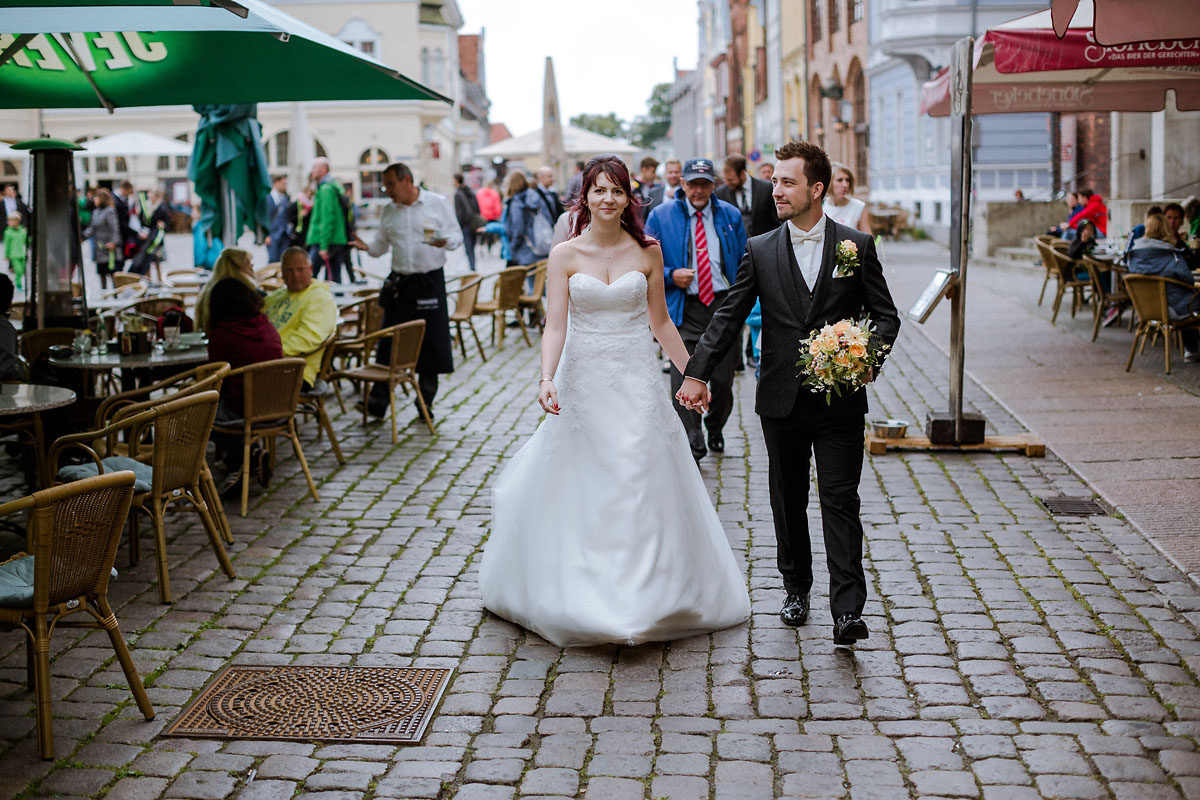 Hochzeitsfotograf Stralsund Altstadt